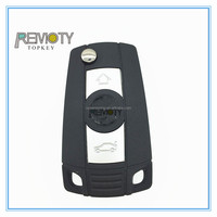 bmw car key shell replacement with remote interaction
