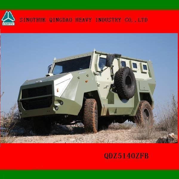 Amphibious Military Bulletproof and Anti-mine Wheeled Armored Vehicle for sale
