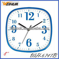 Plastic quartz wall clock/designer kitchen clock/fashion clocks