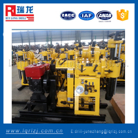 trailer mounted drilling rig 200m water well drilling equipment