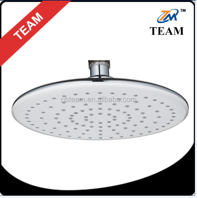 20cm white top rain shower head