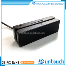 Runtouch 80,000pcs/year manufacture mini magnetic stripe card reader in 90*27*28mm dimension