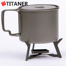 hiking titanium compact camping stoves camping stove stands alcohol stove wick