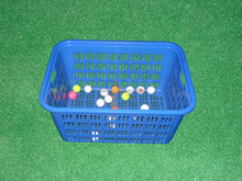 Wholesale and custom golf ball wire basket golf ball plastic basket