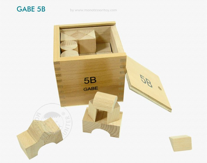 GABE 14 Boxes Totally, Preschool Toys Educational Frobel