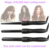 Ceramic Glaze Coating 3 remover barrel wave hair curling iron triple tube hair curler curling wand