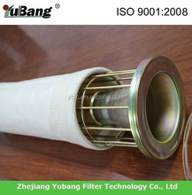 dust collector filter bag with PTFE membrane