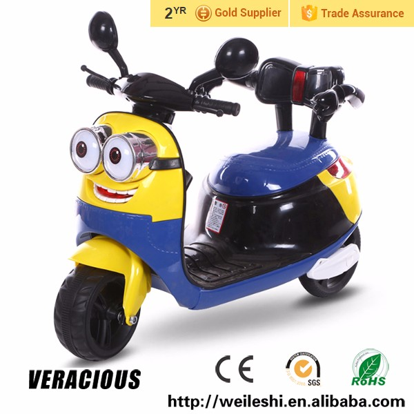 new model kids motorcycle mini electric motorbike with LED light