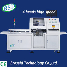 Led lamp assemble line of automatic high speed four heads lead screw LED pick and place machine for BSD-20000S