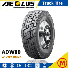 AEOLUS WINDPOWER ADW80 Wholesale 315/80R22.5 TBR TYRE WINTER SNOW ICE Truck Tires