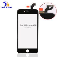 New LCD for Apple iPhone 6s Plus LCD Display Touch Screen Digitizer Assembly Replacement Black or White by Free Shipping