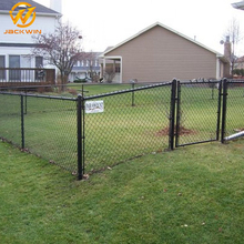 Road Safety Barrier Wire Mesh Road Safety Metal Chain Link Fence