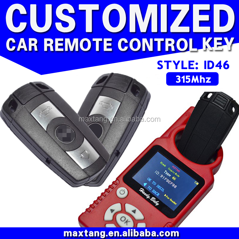 Remote Key Car Key Case 315Mhz ID46 For Bmw Remote Key Smart Car Key Universal Remote Control Car Key MTF-100108