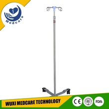 MT-IV2 iv drip stand with round pole base stand