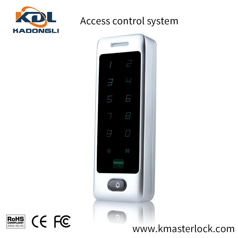 2016 latest metal single smart card door access control with touch keypad