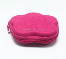 mini camelia flower change purse lovely 3D flower shape coin purse