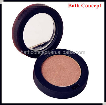 Shining eye shadow with mirror oem