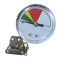 factory bourdon tube pressure gauge with RoHs