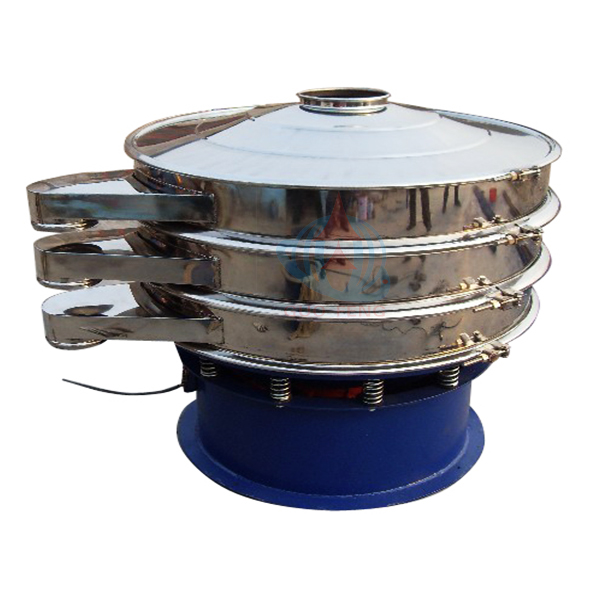 Round Industrial Sieve Shaker for grinding material