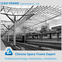 Galvanized Steel Space Frame for Metal Building Shed