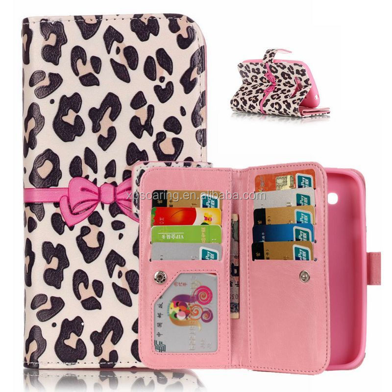 Multi-function wallet leather case pouch bag for Samsung Galaxy Grand Duos I9082