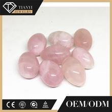 custom design massage rose quartz yoni egg