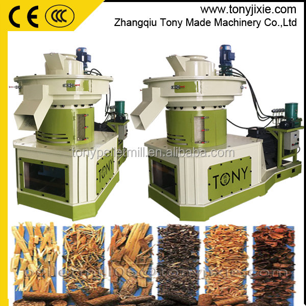 TONY Corn gluten feed pellet mill/ ring die biomass pellet press