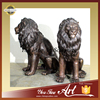 Life Size Bronze Lion Sculptures For Home Decoration