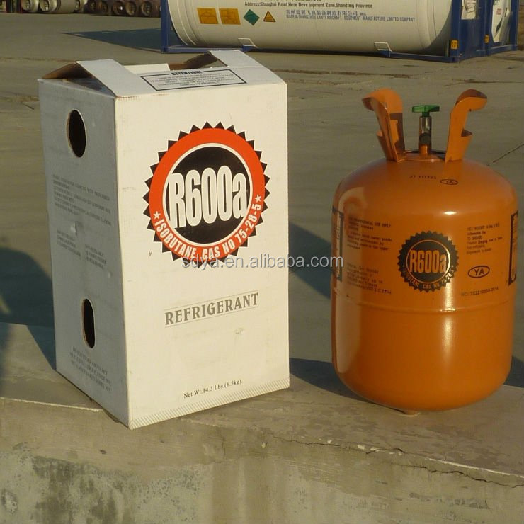 high Purity Refrigerant gas r600a Isobutane