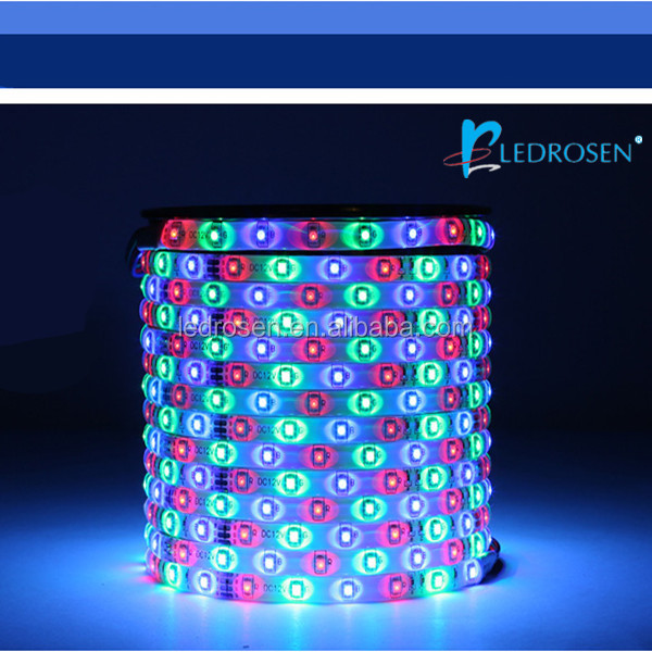 Factory High Brightness 3528 high quality Led Strip with RGB Color, Waterproof