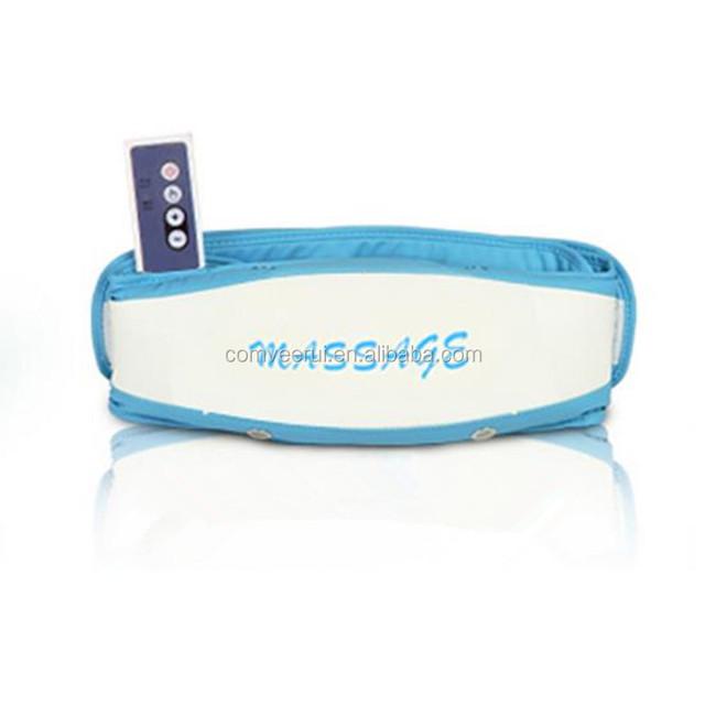 Electic Crazy Fat Reduce Equipment Slimming Massager Belt Vibrating Fat Burning Weight Loss Massager Belt