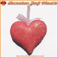 Polyfoam Christmas Decorate Beautiful Heart Holiday Gift
