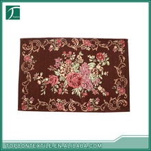 New Products chenille bath door mat all types of high quality carpets for pray home prayer mat