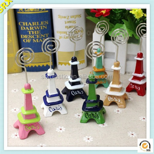 Lovely Wire photo memo clip stand custom plastic memo holder clip supplier