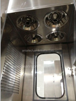 Food industrial required Pass box with air shower