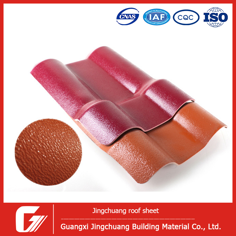 building material pvc roof covering synthetic resin roofing tile