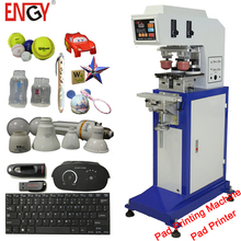 China golf ball cup pen pad printer toys 2 color computer keyboard mouse ink cup pad printing machine for promotions