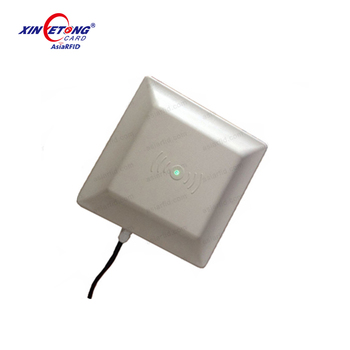865-868mhz long range RS232 Rs485 Port Antenna Integrated Uhf Rfid Reader