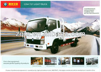 4x2 4x4 China 3-10tons SINO single double cabin mini pickup truck