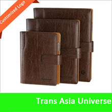 2014 Hot Selling Custom leather cover executive agenda