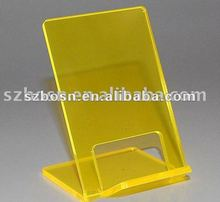 Acrylic Mobile Display & Acrylic Cell Phone Display & Lucite Phone Stand