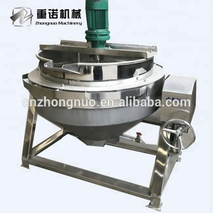 200L Gas Cooking Jacketed Kettle Mixer
