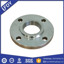 MS CS A105 ANSI B16.5 CL150 SCREW THREADED PLATE FLANGES