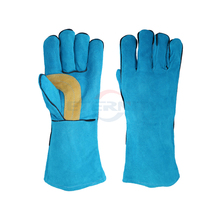 Safety work glove Electric soldering welder's gloves China Eternity glove new designer make
