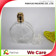 New Replacement Round Spray Atomizer Empty Flint Glass Perfume Bottle 50ml