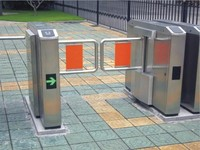 Airport Security Turnstile/ Entrance Gates Turnstile/Pedestrian Channel Gate with Lowe Maintence Cost