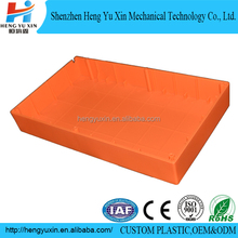 High quality plastic t-moulding red machines making plastic box
