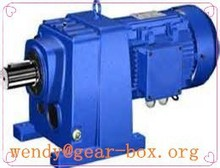 R series helical gear speed reducer for power transmission