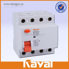 30ma 100ma 300ma rccb circuit breaker,ID 2/4 pole residual current circuit breaker, 400v residual current circuit breaker rccb/