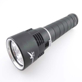 LustFire DV08 3xCREE XM-L2 3600 Lumens Push Forward Magnetron LED Diving Flashlight (2x26650)